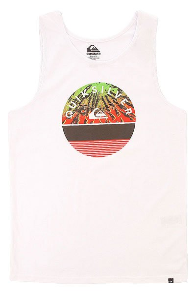 ����� Quiksilver Class Tankexting Tees White