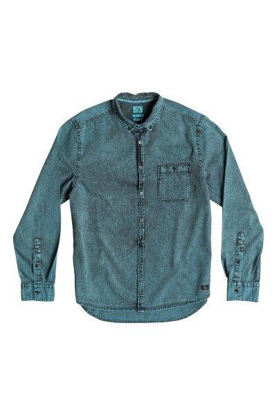 Рубашка Quiksilver The Clack Tonls Wvtp NiagaraРубашки<br>Дополни свой образ легкой джинсовой рубашкой узкого кроя с мраморным эффектом Acid Wash. Отличное сочетание стиля и качества.Характеристики:Карман на груди. Нашивка с фирменным логотипом Quiksilver. Манжеты рукавов на пуговице. Длинный рукав.<br><br>Размер EU: L<br>Размер EU: XL<br>Размер EU: S<br>Цвет: синий<br>Тип: Рубашка<br>Возраст: Взрослый<br>Пол: Мужской