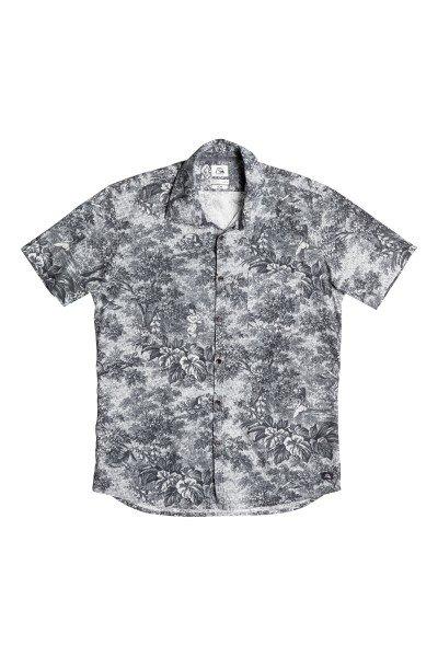 Рубашка Quiksilver Sunset Tunnel Shi Wvtp Sunset Tunnels DarkРубашки<br>Модная рубашка со сплошным принтом. Выполненная из натурального хлопка, эта стильная рубашка с коротким рукавом отлично подойдет для жаркой погоды.Характеристики:Приталенный крой. Сплошной принт.Нагрудный карман. Короткий рукав. Отложной воротник.<br><br>Размер EU: M<br>Размер EU: L<br>Цвет: черный,серый<br>Тип: Рубашка<br>Возраст: Взрослый<br>Пол: Мужской