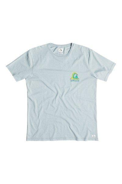Футболка Quiksilver Storm Tees Flint StoneФутболки и Майки<br>Насыщенные цвета, разнообразные яркие принты и комфортная ткань в коллекции футболок от Quiksilver.Технические характеристики: Короткие рукава.Свободный крой.Декоративная строчка на рукавах и на подоле.Контрастный тропический принт.<br><br>Размер EU: L<br>Размер EU: M<br>Размер EU: S<br>Цвет: голубой<br>Тип: Футболка<br>Возраст: Взрослый<br>Пол: Мужской
