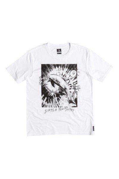 Футболка Quiksilver Easy Life Tees WhiteФутболки и Майки<br>Летние футболки от Quiksilver - это единство спортивного духа и дизайнерской мысли, нацеленное на яркое самовыражение и комфорт.Технические характеристики: Короткие рукава.Свободный крой.Креативный принт на груди.<br><br>Размер EU: XS<br>Цвет: белый<br>Тип: Футболка<br>Возраст: Взрослый<br>Пол: Мужской
