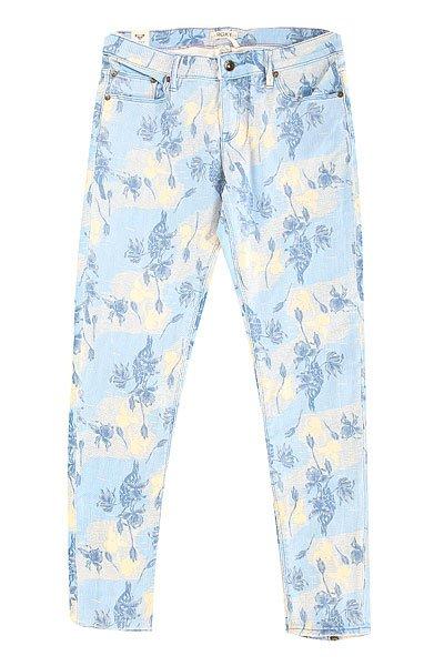 Джинсы узкие женские Roxy Suntrippers J Pant Small Vintage HeritaДжинсы<br>Слегка укороченные женские джинсы от ROXY с цветочным принтом в винтажном стиле.Технические характеристики: Слегка укороченная модель.Декоративная молния в нижней части штанин.Карманы для рук.Карман для мелочи.Задние карманы.Петли для ремня.Кожаный ярлычок с логотипом Roxy.<br><br>Размер EU: W27<br>Размер EU: W25<br>Размер EU: W28<br>Размер EU: W29<br>Размер EU: W26<br>Цвет: голубой<br>Тип: Джинсы узкие<br>Возраст: Взрослый<br>Пол: Женский