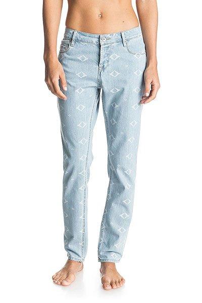 Джинсы широкие женские Roxy Burnin J Pant Vintage Light BlueДжинсы<br>Женские джинсы свободного, комфортного кроя, не стесняющего движений для активного отдыха без границ.Технические характеристики: Свободный крой.Комфортная посадка.Жаккардовый принт.Карманы для рук.Карман для мелочи.Задние карманы.Петли для ремня.Кожаная нашивка Roxy.<br><br>Размер EU: W26<br>Цвет: голубой<br>Тип: Джинсы широкие<br>Возраст: Взрослый<br>Пол: Женский