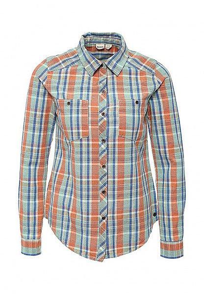 Рубашка в клетку женская Roxy Sneaky Wvtp Point Plaid Combo Mo