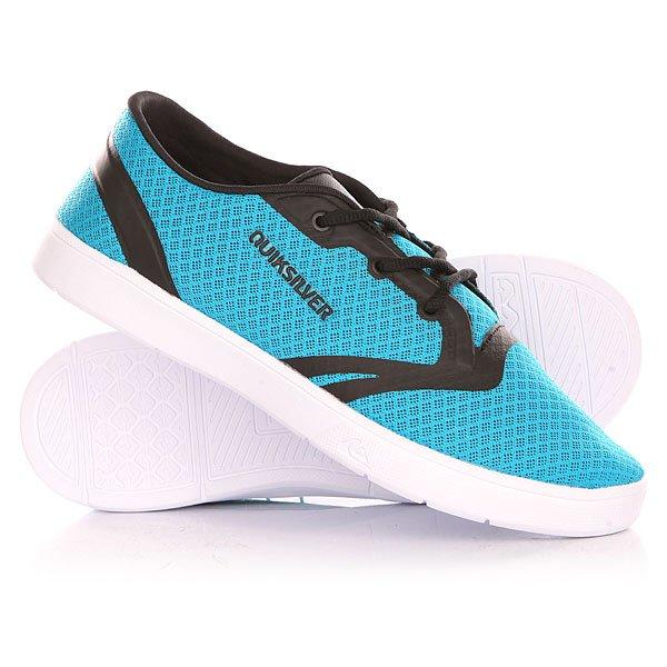 Кеды кроссовки низкие детские Quiksilver Oceanside Youth B Shoe Blue/Black/White