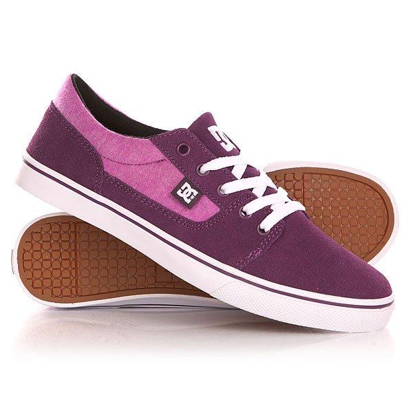 ���� ��������� ������ ������� DC Tonik Se J Shoe Purple Wine