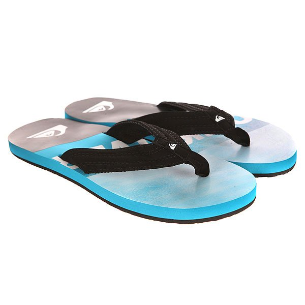 ��������� Quiksilver Basis Sndl Black/Blue
