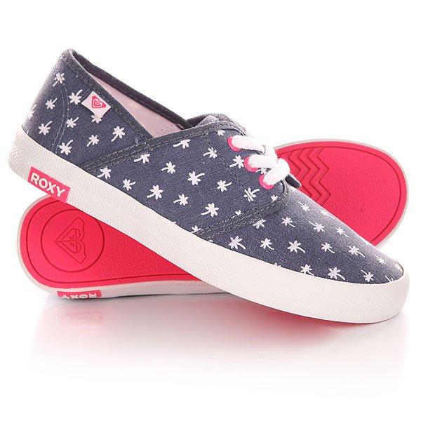 Кеды кроссовки низкие детские Roxy Rg Hermosa G Shoe Navy