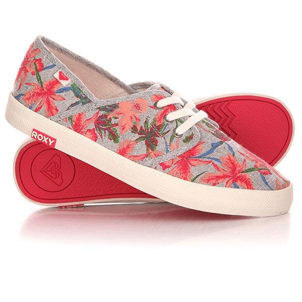 Кеды кроссовки низкие женские Roxy Hermosa Ii J Shoe Multi