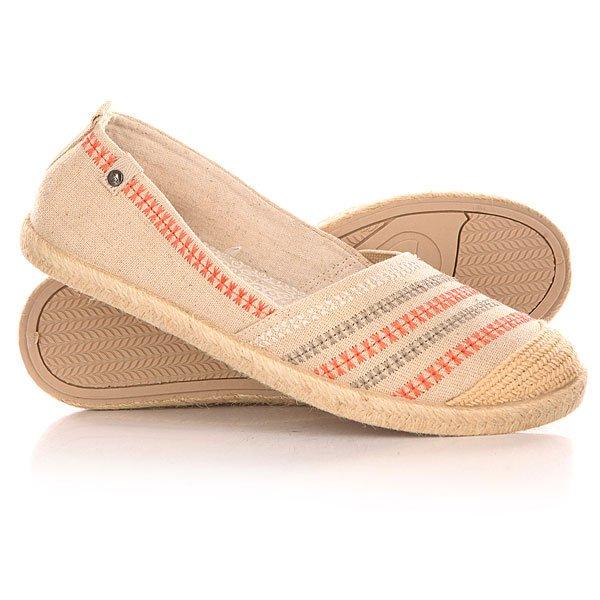 Эспадрильи женские Roxy Flamenco J Shoe Cream