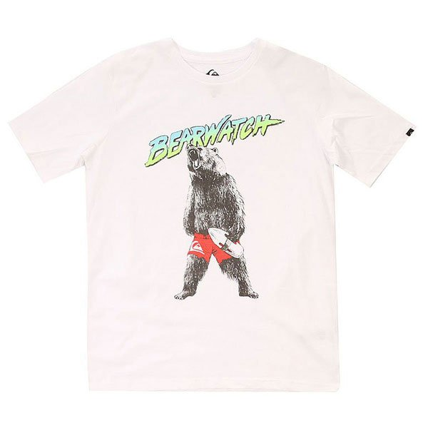 �������� ������� Quiksilver Bearwatch Tees White