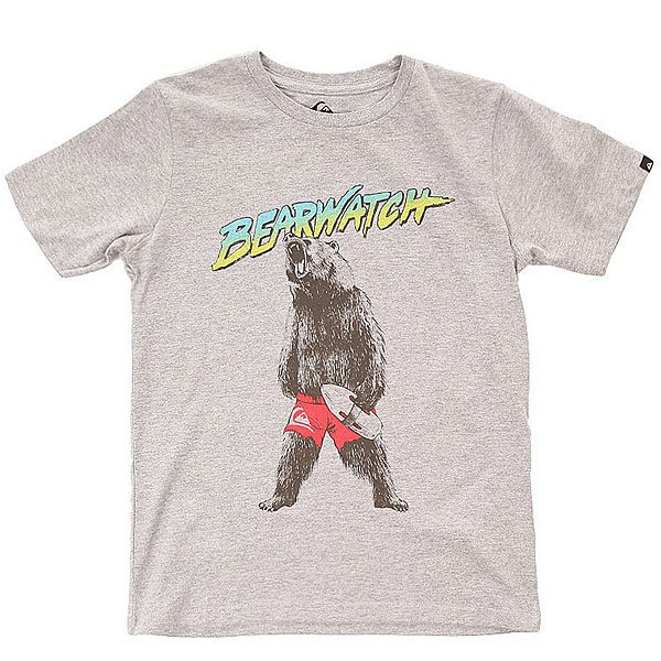 �������� ������� Quiksilver Bearwatch Tees Athletic Heather