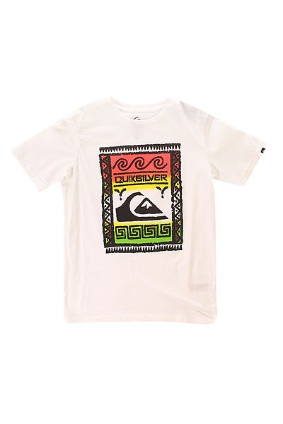 �������� ������� Quiksilver Walstreet Tees White