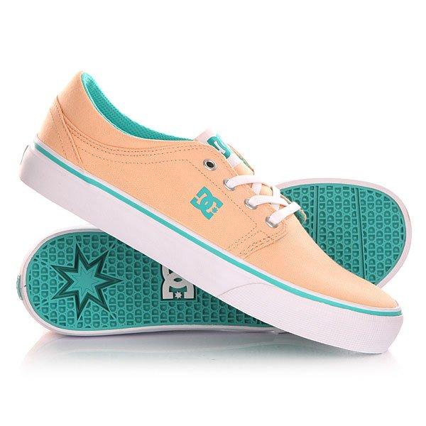 Кеды кроссовки низкие женские DC Trase Tx Shoe Sand