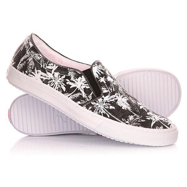Слипоны женские Roxy Blake J Shoe Black/White