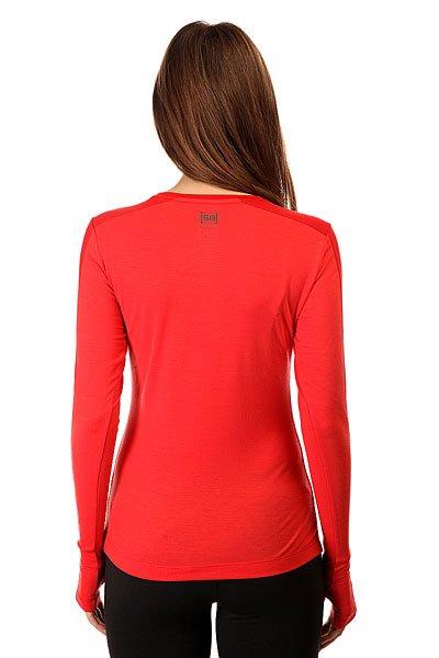 Термобелье (верх) женский Super Natural Nrg Ls Top Red от BOARDRIDERS