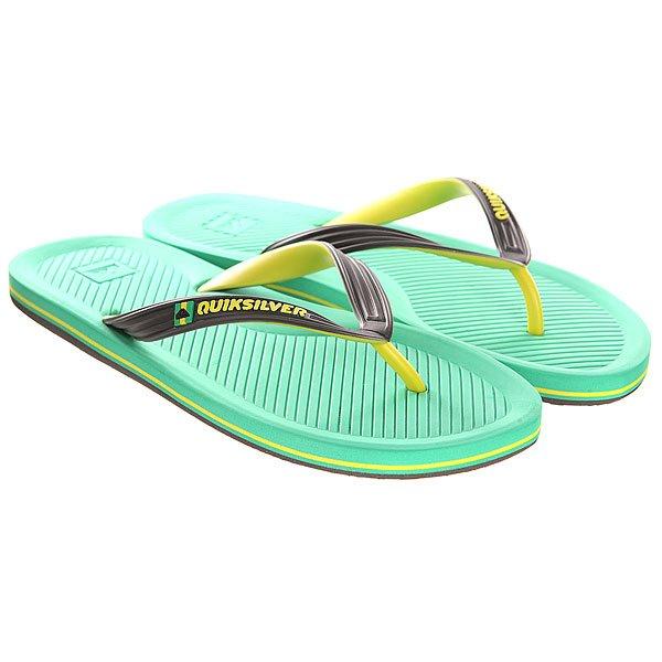 ��������� Quiksilver Haleiwa Sndl Black/Green/Yellow