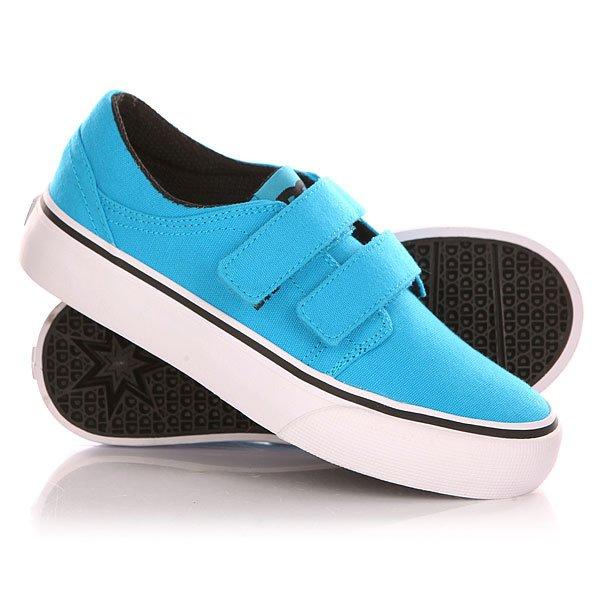 Кеды кроссовки низкие детские DC Trase V B Shoe Bright Blue