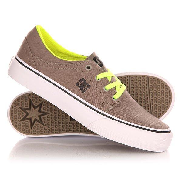 Кеды кроссовки низкие детские DC Trase Tx B Shoe Taupe