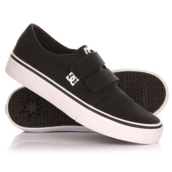 ���� ��������� ������ ������� DC Trase V B Shoe Black/White