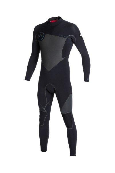 Гидрокостюм (Комбинезон) Quiksilver 3/2mm Syncro Bz Black/GraphiteГидрокостюмы<br>Практичный и долговечный  гидрокостюм для водных видов спорта.Технические характеристики: Неопрен FN LITE NEOPRENE толщиной 3/2 мм, который на 16% легче своих конкурентов с большим количеством воздушных капсул, сохраняющих тепло и экономящих вес.Технология Dry Flight Far Infrared Heat Technology - термо подкладка, которая сохраняет тепло тела.Неопрен THERMAL SMOOTHIE NEOPRENE - на 16% эластичнее своих конкурентов, ветро- и водоустойчивый, чтобы держать тебя в тепле.Швы LFS - тянущаяся, эластичная жидкая лента накладывается поверх швов.Молния YKK™ №10 - с молнией на спине гидрокостюм легко снимается и надевается.Технология Hydroshield предотвращает попадание воды в костюм через молнию.Наколенники ECTOFLEX - прочные, легкие и эластичные панели в районе колен.Неопрен GlideSkin в области шеи - мягкий комфортный неопреновый слой с водонепроницаемой подкладкой.Регулируемая водонепроницаемая застежка на шее Hydrowrap.Внутренние карманы для ключей.Подходит для температуры воды 15°С.Однотонный дизайн.Логотип Quiksilver.<br><br>Размер EU: M<br>Размер EU: S<br>Цвет: черный,серый<br>Тип: Гидрокостюм (Комбинезон)<br>Возраст: Взрослый<br>Пол: Мужской