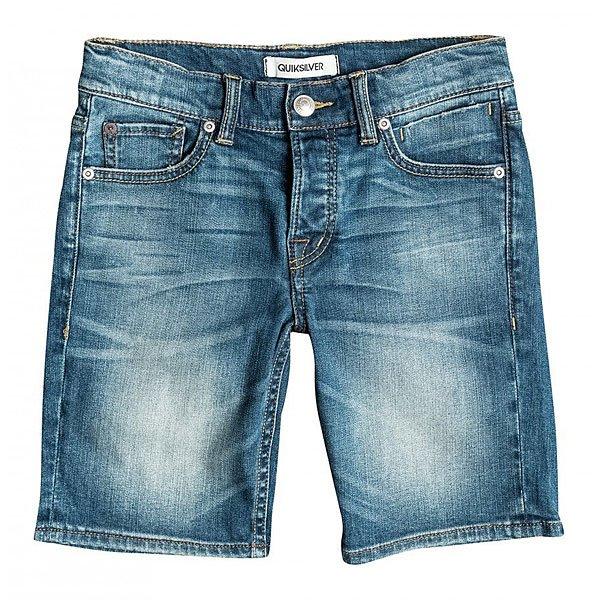 Шорты джинсовые детские Quiksilver Revol Short B Dnst Medium BlueОдежда<br><br><br>Размер EU: 10yrs<br>Цвет: синий<br>Тип: Шорты джинсовые<br>Возраст: Детский
