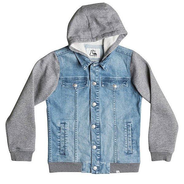 Куртка джинсовая детская Quiksilver Jungle Temple You Jckt Blue Salted