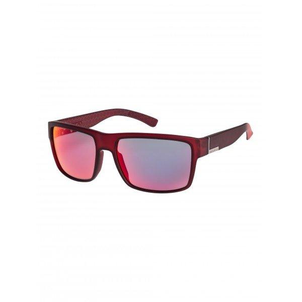 Очки Quiksilver Ridgemont Rubberized Red/Ml RedСолнцезащитные очки<br>Солнцезащитные очки Quiksilver, выполнены из черного пластика.Характеристики:Пластиковые линзы с ультрафиолетовым покрытием. Логотип бренда на дужках. 100% защита от UVA, UVB и uvc лучей.<br><br>Размер EU: One Size<br>Цвет: красный<br>Тип: Очки<br>Возраст: Взрослый<br>Пол: Мужской