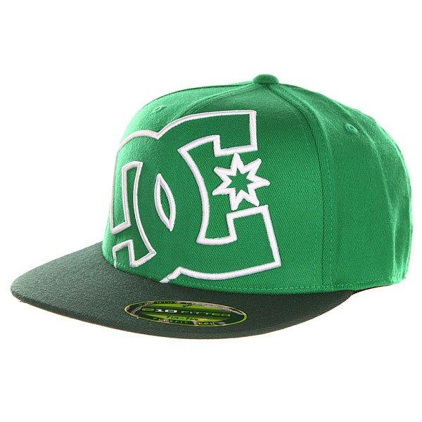 Бейсболка с прямым козырьком DC Ya Heard Celtic GreenБейсболки<br><br><br>Размер EU: L-XL<br>Цвет: зеленый<br>Тип: Бейсболка с прямым козырьком<br>Возраст: Взрослый<br>Пол: Мужской