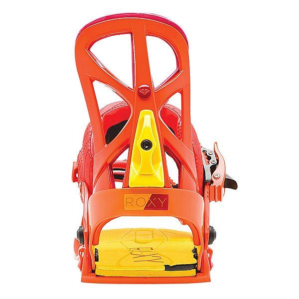 Крепления для сноуборда женские Roxy Team Bind Orange/Red