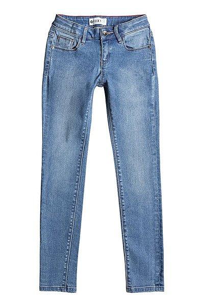 Джинсы прямые детские Roxy Step Pant Med Blue Wash