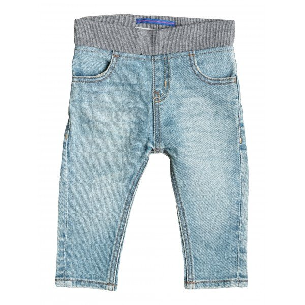 Штаны прямые детские Quiksilver Thick Wood Baby I Pant Blue Salted
