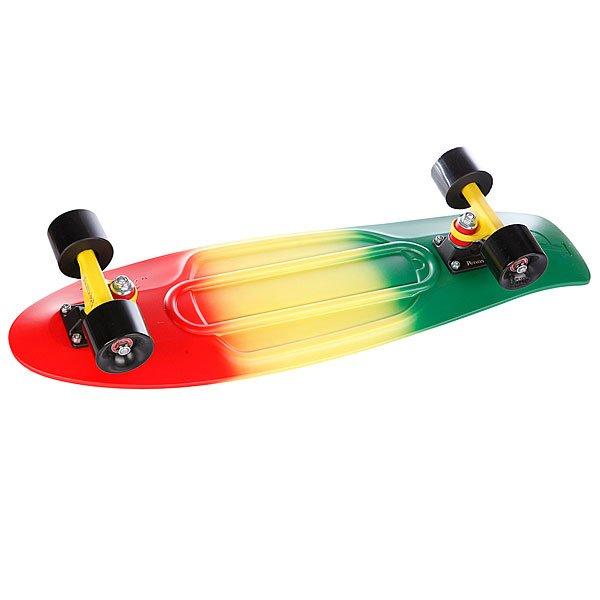 Скейт мини круизер Penny Nickel Ltd Rasta Fade Red/Green/Black 27 (68.6 см)
