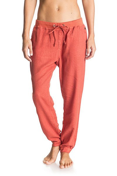 Штаны спортивные женские Roxy Silver ChiliБрюки<br>Женские штаны для бега Silver Linings от ROXY.Технические характеристики: Штаны для бега.Тканое полотно.Эластичный пояс и манжеты.Боковые карманы.Пояс на утяжке.Металлический логотип Roxy.<br><br>Размер EU: S<br>Размер EU: L<br>Размер EU: XS<br>Размер EU: M<br>Цвет: оранжевый<br>Тип: Штаны спортивные<br>Возраст: Взрослый<br>Пол: Женский