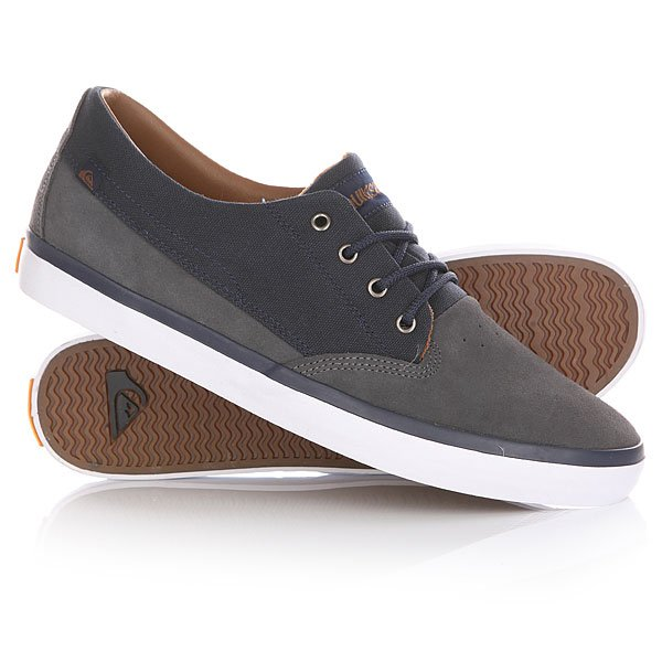 Кеды кроссовки низкие Quiksilver Beacon Blue/White