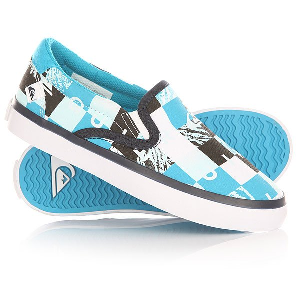 ������� ������� Quiksilver Shore break slip on Blue/Black/White