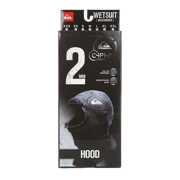 Гидрошлем Quiksilver 2mm Cyp Hood Black от BOARDRIDERS
