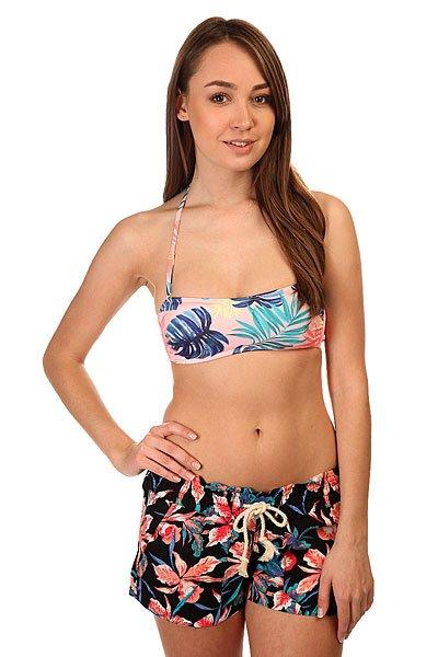 Бюстгальтер женский Roxy Bandeau Beach Palm Combo RosКупальники: топ<br><br><br>Размер EU: XS<br>Цвет: мультиколор<br>Тип: Бюстгальтер<br>Возраст: Взрослый<br>Пол: Женский