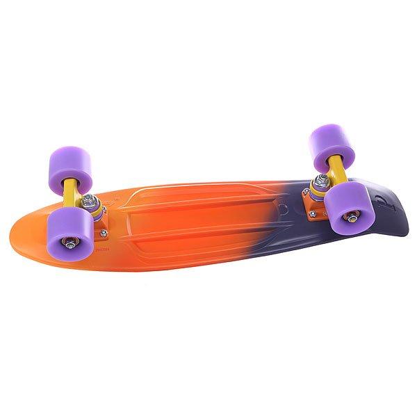Скейт мини круизер Penny Original Ltd Orange/Yellow/Purple 6 x 22 (55.9 см)