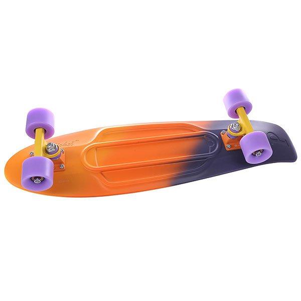 Скейт мини круизер Penny Nickel Ltd Dusk Fade Orange/Purple 7.5 x 27 (68.6 см)