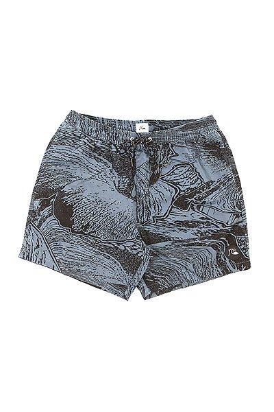 Шорты пляжные Quiksilver Ghet To Acid Dark Trip Dark DenimБордшорты<br>Бордшорты с модной абстрактной расцветкой.Характеристики:Накладной задний карман. Пояс на шнуровке. Эластичная резинка на поясе.Вышитый логотип. Прямой крой.<br><br>Размер EU: M<br>Размер EU: L<br>Цвет: синий,черный<br>Тип: Шорты пляжные<br>Возраст: Взрослый<br>Пол: Мужской