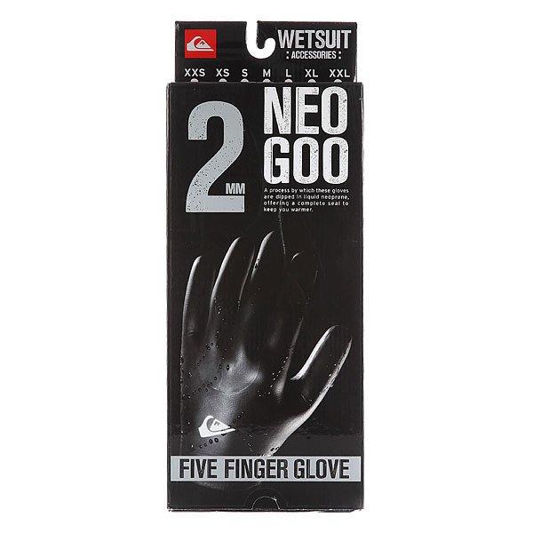 Перчатки (гидро) Quiksilver 2mm Neogoo 5 Fingers Black от BOARDRIDERS