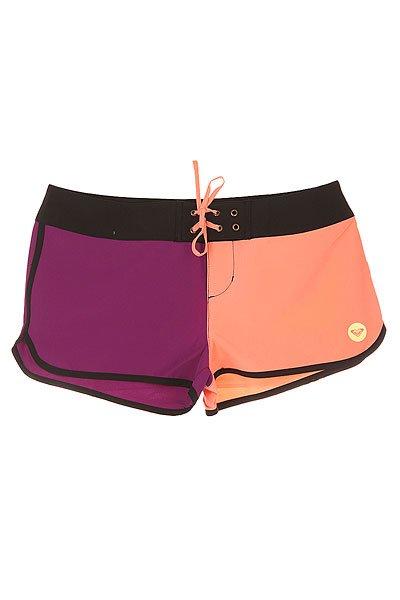 Шорты пляжные женские Roxy Colors Bs Sunkissed CoralБордшорты<br>Короткие женские бордшорты Colors 2 от ROXY.Технические характеристики: Мягкий эластичный полиэстер.Застежка на шнуровке с металлическими люверсами.Фигурные края с контрастной отделкой.Принт в стиле color block.Задний карман на молнии.Логотип ROXY.<br><br>Размер EU: L<br>Размер EU: M<br>Размер EU: S<br>Размер EU: XS<br>Цвет: фиолетовый,розовый<br>Тип: Шорты пляжные<br>Возраст: Взрослый<br>Пол: Женский