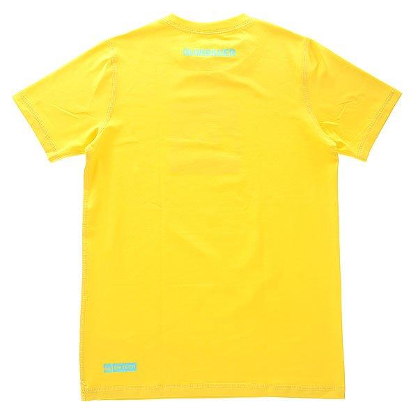 Гидрофутболка детская Quiksilver Squarehypno Yellow от BOARDRIDERS