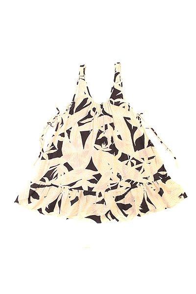 Платье женское Roxy Shadow Vintage Palm Line BiПлатья<br>Отличное платье для лета! Подойдет и для города, и для пляжа.Характеристики:Свободный крой. Открытая спинка с полукруглым вырезом. Декоративный принт.<br><br>Размер EU: S<br>Размер EU: L<br>Размер EU: XS<br>Цвет: черный,бежевый<br>Тип: Платье<br>Возраст: Взрослый<br>Пол: Женский