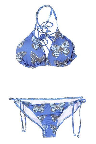 Купальник женский Roxy Tiki Tri/Tie Si J Ikat Pattern New Com