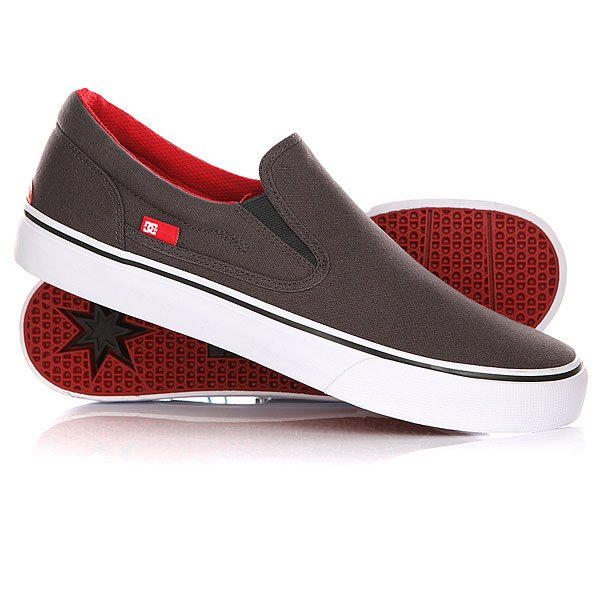 ������� DC Trase Slip-on TX Grey/Black/Red