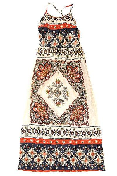 Платье женское Roxy Summer Agadir Border Combo BrownПлатья<br><br><br>Размер EU: S<br>Цвет: белый,мультиколор<br>Тип: Платье<br>Возраст: Взрослый<br>Пол: Женский