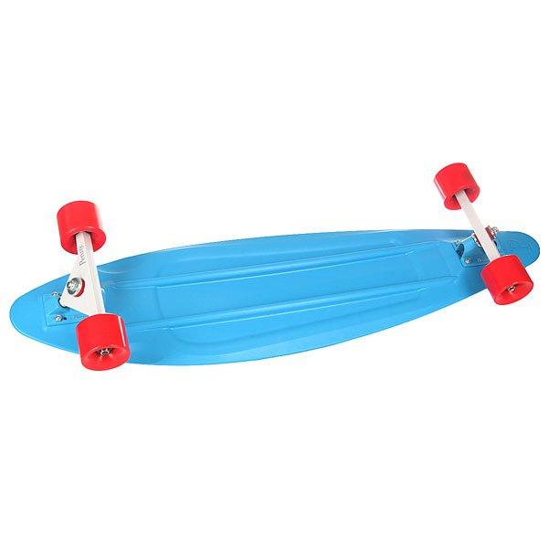 Лонгборд Penny Longboard Bd Blue 9.5 x 36 (91.5 см)Лонгборды<br><br><br>Размер EU: 36 (91.5 см)<br>Цвет: голубой<br>Тип: Лонгборд<br>Возраст: Взрослый<br>Пол: Мужской