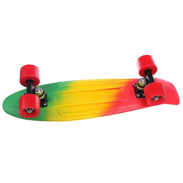 Скейт мини круизер Penny Original 22 JAMMIN FADE 6 X 22 (55.9 СМ)Лонгборды<br><br><br>Размер EU: 22 (55.9 см)<br>Цвет: зеленый,красный,желтый<br>Тип: Скейт мини круизер<br>Возраст: Взрослый<br>Пол: Мужской
